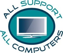 All Support All Computers, Logo